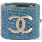 Cc Cuff Bracelet -Pre Owned Condition Excellent Chanel Vintage