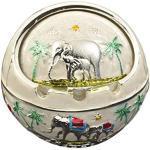 Cendrier coupe-vent avec couvercle, Éliminateur d'odeurs d'éléphant portable pour une utilisation en extérieur et en intérieur refermable pour homme et femme à la maison et au bureau