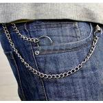 Chaine De Pantalon, Chaine De Portefeuille, Antivol Porte-Clés / Monnaie En Métal Style Moto Punk Rock Biker