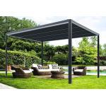Chalêt-Jardin Pergola Autoportante en Aluminium Connectée + LED 9 m² e-Store - 35-700079