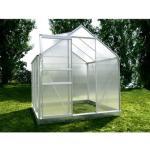 Chalet & Jardin Serre de Jardin en Aluminium et Polycarbonate 2,28 m² 810303 - Diamant Gris 46