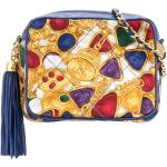 Chanel Pre-Owned 1986-2009 quilted fringe cc bijou printed bag - Multicolore