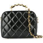 Chanel Pre-Owned sac cabas 2way matelassé (1994-1996) - Noir