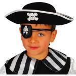 Chapeau Pirate Feutre Enfant
