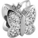 Charm Amore & Baci 5C601 - Charm Papillon cristaux Argent