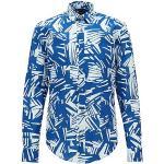 Vêtements Hugo Boss BOSS bleus à motif palmier look casual pour homme