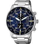 Citizen CA0690-88L Aviator Montre pour homme avec chronographe, type aviateur