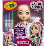 Colour n Style Poupée Lavender