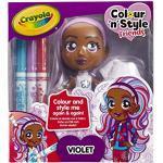 Colour n Style Poupée Violet
