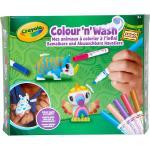 Colour'n'Wash - Mes animaux à colorier - Safari CRAYOLA