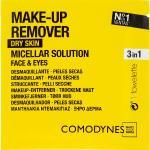 Comodynes Make Up Remover Micellar Solution Easy Cleanser - Lingettes Démaquillantes Pour Peaux Sèches 8 pcs.