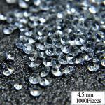 Confettis D'anneau En Diamant 15g   Paillettes De Mariage, Argent Doré, Bague De Doigt De Table - Modèle: 45 Diamond - Hsrhfcdc05228