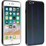 Coque iPhone SE 2020/7/8 Design holographique Rigide Collection Aurora noir