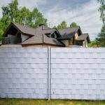 Costway Brise-Vue en PVC 35mx19cm 450g/m² avec 20 Clips de Fixation pour Jardin Protection de la Vie Privée Gris Clair