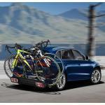 Costway Porte-vélos sur Attelage pour 2 Vélos avec Conception Intelligente de Basculement