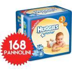Couches Huggies Unistar Taille 3 - 264 Couches