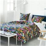 Courtepointe imprimée en percale de coton, Sashi Multicolore Designers Guild
