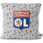 Linge de maison gris Olympique Lyonnais