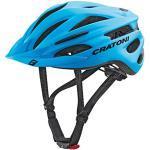 Cratoni Pacer+ Casque de vélo Mixte, Bleu Mat, S/M