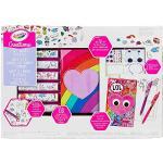 Crayola - Creations Super Set d'Agenda Peluche à Personnaliser avec Adhésifs et Gemme 8 Années Multicolore
