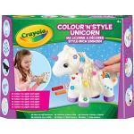 Crayola - Ma licorne à décorer - Loisir créatif - Kits d'activités - à partir de 4 ans - Jeu de dessin et coloriage