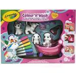 Crayola - Washimals - Mes Animaux à Colorier - Coffret - Loisir créatif - washimals - Color N wash - à partir de 3 ans - Jeu de dessin et coloriage