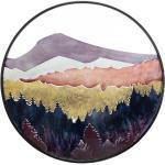 Déco murale Paysage , métal D60 cm