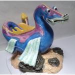 Décoration Aquarium - Dragon - Aqua Wizard