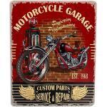 Décoration Murale Métallique Motorcycle