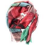 DESIGUAL à -50% - Foulard rouge - femme - TU