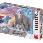 Dino Puzzle Ours polaires 1000 pièces