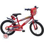 """Disney Cars Chrome Vélo Enfant Rouge 16"""""""