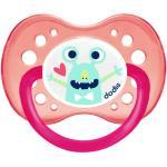 Dodie Sucette Anatomique Silicone Fluo Monstre Rose 18m+ A60