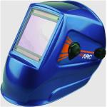 Drakkar Equipement - Cagoule de soudage bleue grand écran 100x93mm -S05784