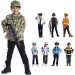 Dress Up America Enfants Armée Authentique Forces Militaires Jeu Jeu Costume âges 3-6