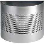 Durable 331723 Corbeille à papier Métal demi-cercle 20L Argent
