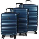 Ensemble 3 valises rigides Airtex Diome Bleu