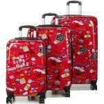 Ensemble 3 valises rigides Madisson Bon Voyage Rose