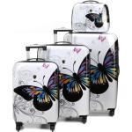 Ensemble 3 valises rigides Madisson Yokohama 2 et vanity Blanc