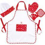 Ensemble de cuisinier enfant Hape avec tablier et toque