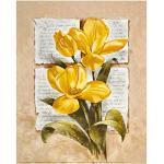 Eurographics LAM1108 imprimé Tulipes poésie par L. Martinelli 24 x 30 cm