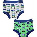 EZ Undeez Bébés garçons, sous-vêtements pour Enfants, Monster Trucks & Cars, 3 Ans