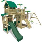 FATMOOSE Aire de jeux enfant avec toboggan Pacific Pearl Pro XXL