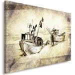 Tableaux Feeby Frames à motif bateaux