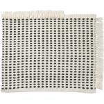 ferm LIVING - Tapis d'extérieur way, 50 x 70 cm, blanc cassé / bleu