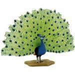 Figurine Oiseau : Paon