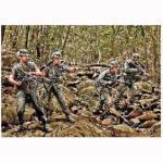 Figurines Militaires : Patrouille Dans La Jungle Us Army Infantry Vietnam 1968