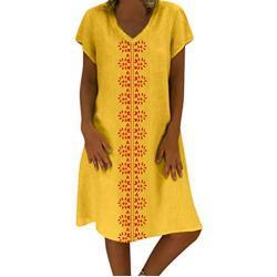 Robes en dentelle de mariage jaunes à manches courtes plus size pour femme