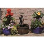 Fontaine de jardin Ubbink Newcastle bois