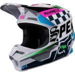 FOX V1 CZAR Casque de motocross Gris XL